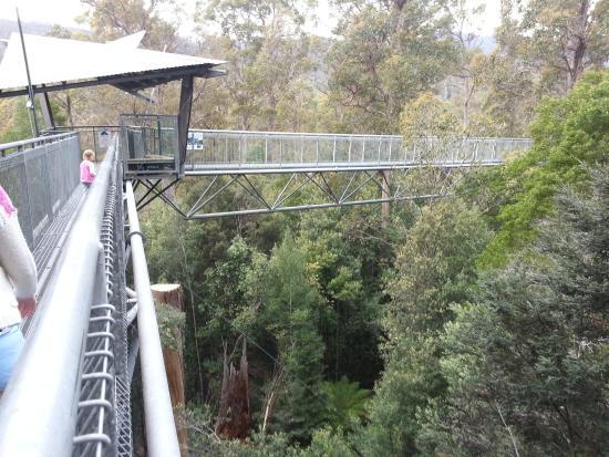 Greater Hobart, Australia: Air walk