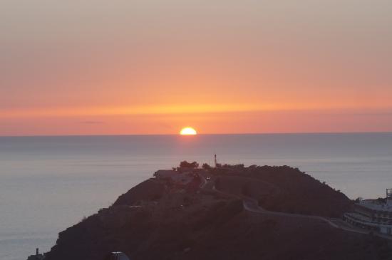 Balcon Del Mar: solnedgang tatt fra balkong