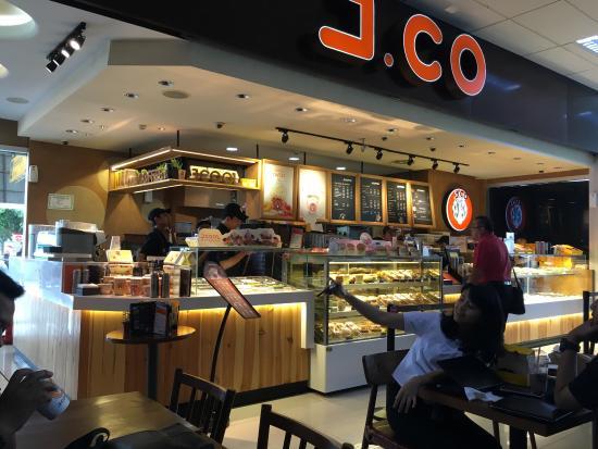 j co donuts coffee mall of indonesia kelapa gading jakarta rh tripadvisor com