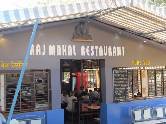 Elephanta Caves Rajmahal Restaurant Offer Good Veg Food