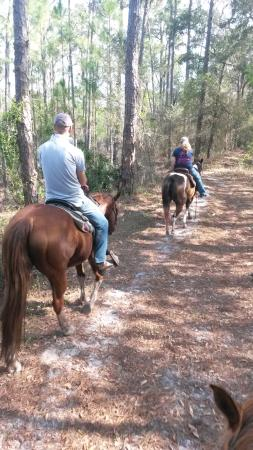 Parrish, Flórida: Riding in Little Manatee State Park