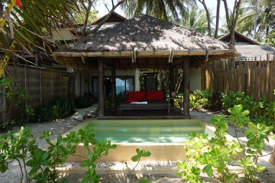 Habitaci n ocean garden pool suite picture of anantara for Garden pool villa outrigger koh samui