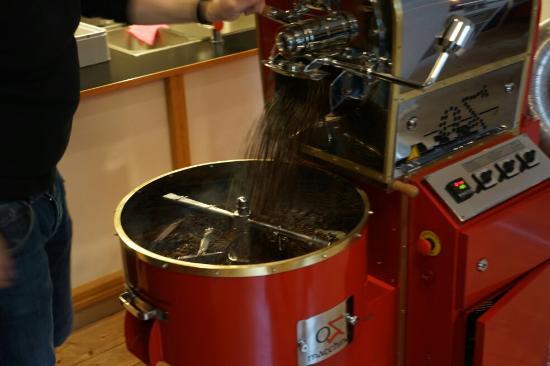 Augustusburg, Tyskland: Zonos Kaffeehelden - Die Rösterei