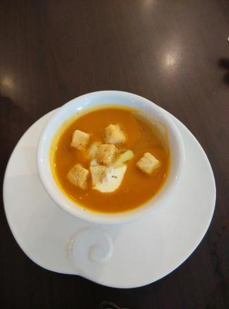 Passion Food Cafe & Bakery: Pumpkin soup