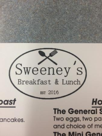 Schuylerville, Nova York: Sweeney's Breakfast and Lunch est 2016