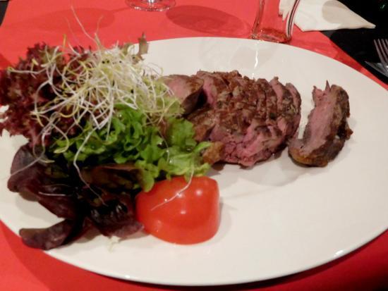 Flandes Occidental, Bélgica: Beef (entrecot)