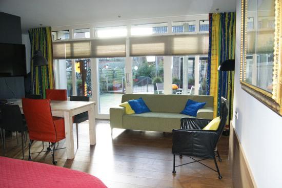 Maasland, Nederland: familiekamer met terras 4 slaapplaatsen