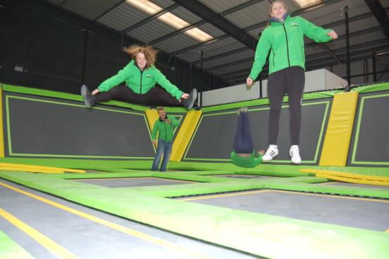 Bolton, UK: Jumping Fun!