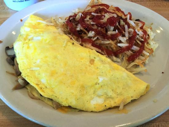 Ocklawaha, Флорида: Delicious omelet
