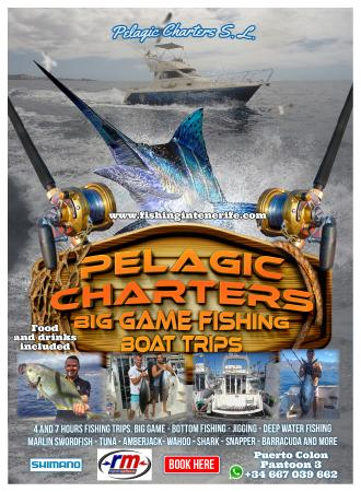 Pelagic Charters Fishing Tenerife
