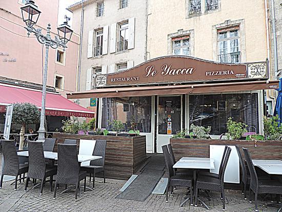 Le yaca pezenas restaurant avis num ro de t l phone for Restaurant a pezenas