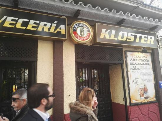 cerveceria kloster