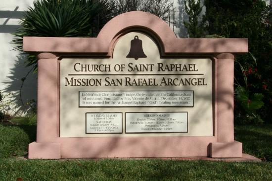 Mission San Rafael Arcangel: Archangel