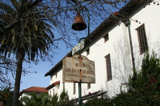 Mission San Rafael Arcangel: El Camino Real bell