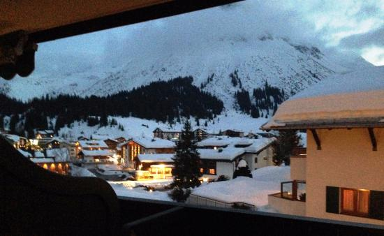 Hotel Madlochblick: View from our room at sunset