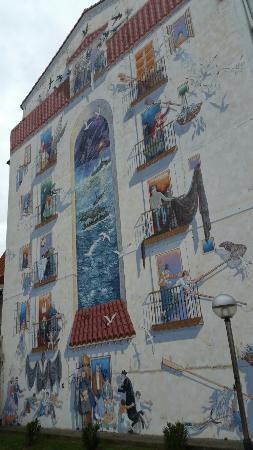 Santander, Spania: Mural de sotileza