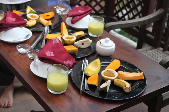 Emerson Spice: breakfast on terrace