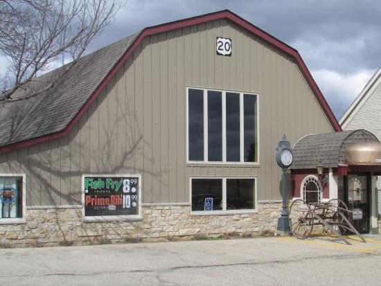 Route 20 Bar: Front of the Highway 20 Restaurant