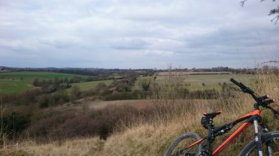 Kippax, UK: A view from the top looking towards garforth