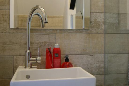 Maasland, Países Bajos: badkamer kamer B