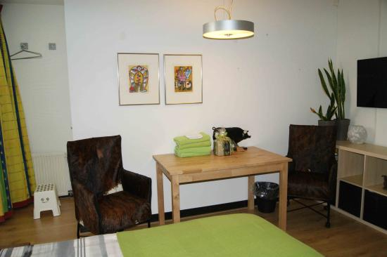 Maasland, Nederland: tweepersoonskamer begane grond