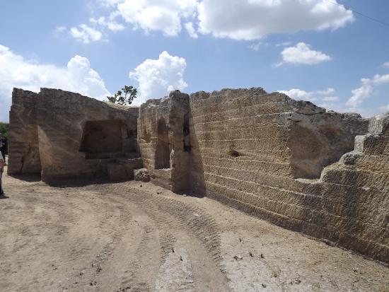 Canosa di Puglia, Italie : Necropoli