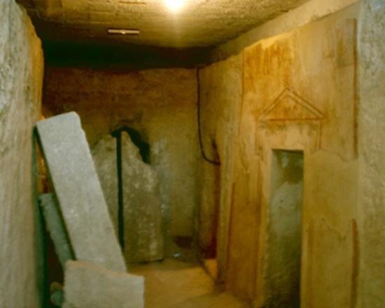 Canosa di Puglia, Italie : cerbero interno