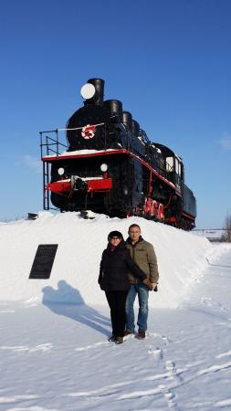 Steam Locomotive Em 711-26 Memorial