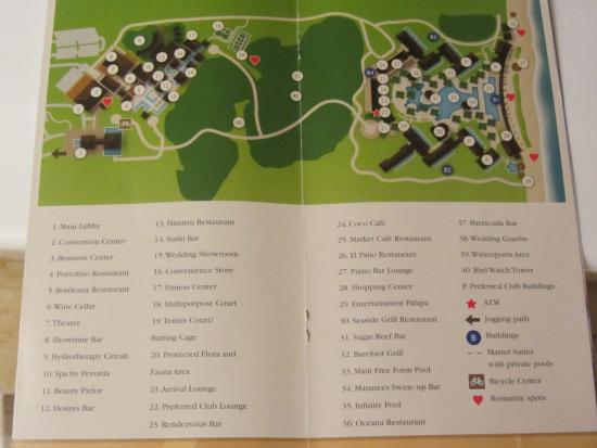 resort map picture of secrets playa mujeres golf spa resort rh tripadvisor com