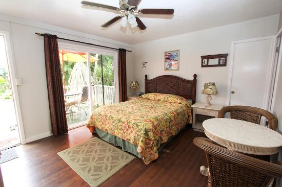 Hanalei Inn: Studio Units with Private Lanai