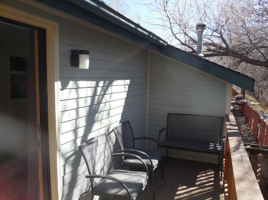 Salida Inn & Monarch Suites : Kings Cottage Private Patio