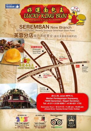 Lucky King Bun Seremban Map Picture of LUCKY KING BUN Seremban