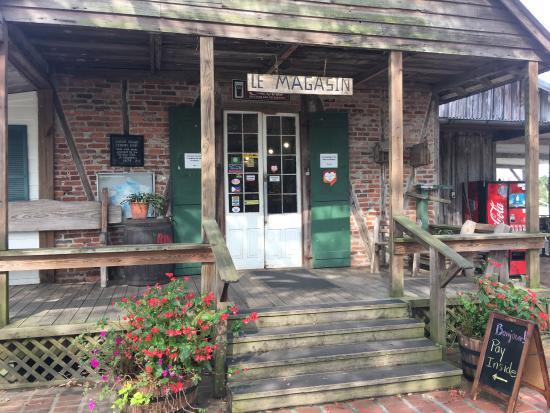 Acadian village photos