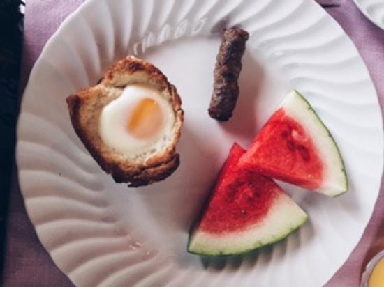 Hyde Park, VT: Second course breakfast