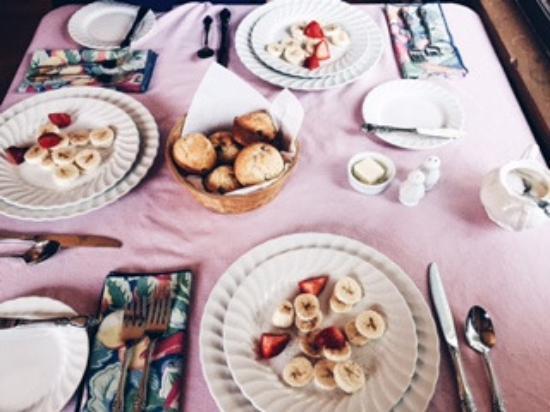 Hyde Park, VT: First course breakfast