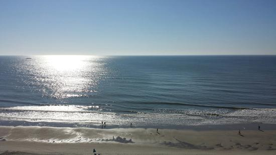 Myrtle Beach Sc Sea Crest Oceanfront Resort View From Our Room March 13 16 Weather Was