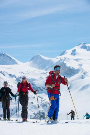 ESF Courchevel 1850: Ski de randonnée mars 2016