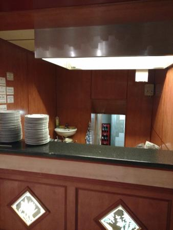 Live Cooking Area
