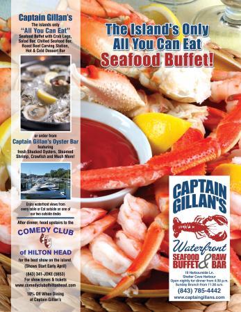 captain gillan s hilton head menu prices restaurant reviews rh tripadvisor co uk