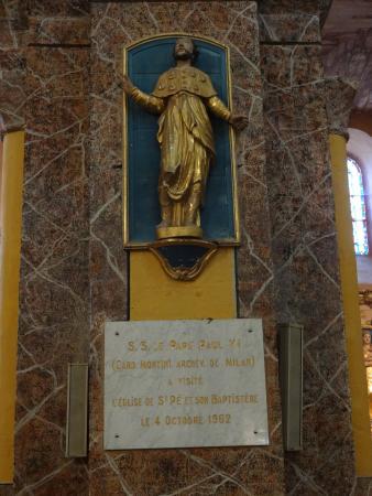 Saint-Pe-de-Bigorre, فرنسا: Église Saint-Pierre, Saint-Pé-de-Bigorre (Hautes-Pyrénées, Languedoc-Roussillon-Midi-Pyrén), Fra