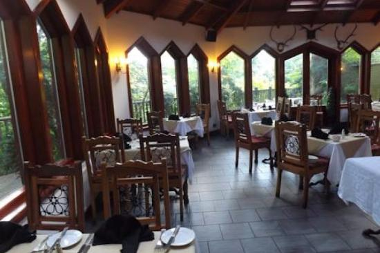 The conservatory dining room - Picture of Dalgarven House Hotel ...