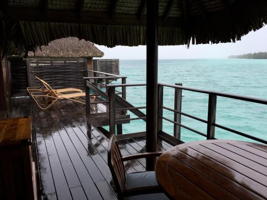 Balcony - Four Seasons Resort Bora Bora Photo