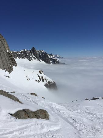 Disentis, سويسرا: Skifahren in Disentis.