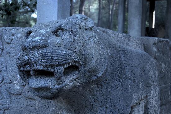 Karatepe: Angry animal to guard the entrance?