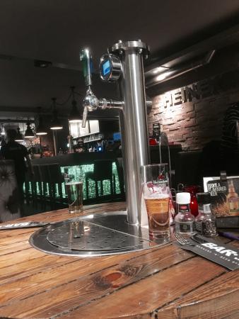 beer tap picture of bar b burgers n beer bar amsterdam rh tripadvisor co uk