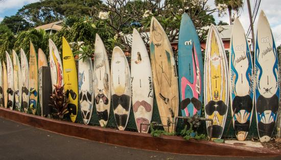 Paia, HI: Unique fence