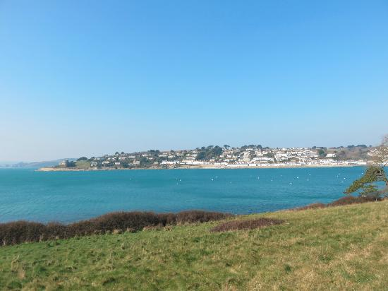 St Mawes, UK: View from the walk