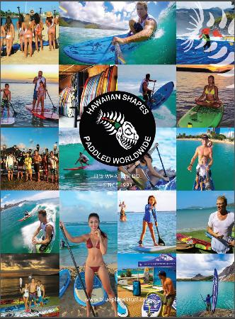 Blue Planet Surf: Blue Planet- Hawaiian Shapes, Paddled Worldwide