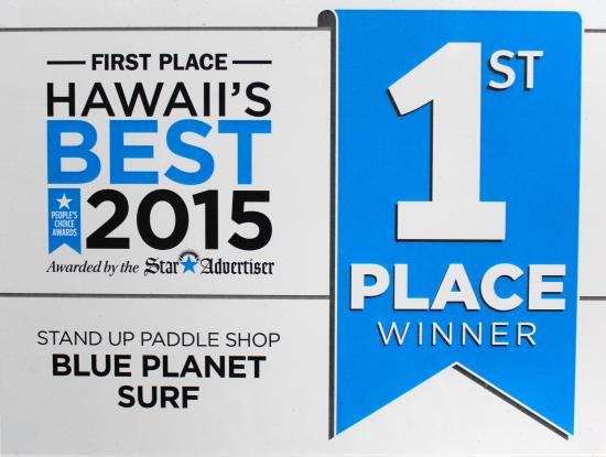 Blue Planet Surf: Voted Hawaii's Best Stand Up Paddle Shop