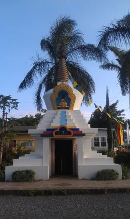 Peace Stupa Dharma Center Paia Maui (Sunset)
